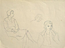 Dorothy Eaton Drawing (LIII) Female Studies