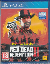 Red Dead Redemption 2 PS4 Nueva Sellado de fábrica