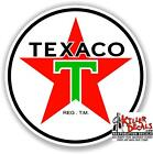 "6"" TEXACO POST WAR GASOLINE DECAL GAS AND OIL PUMP, SIGN STICKER (TEXA-9)"