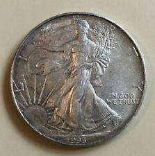 1993 1 oz American Silver Eagle $1 coin