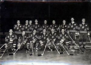 Postcard from the 1959 World Hockey Championship United States Team