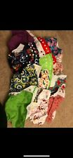 Cloth Diapers And Covers Large Lot