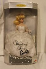 1996 Mattel Barbie Collector Edition Wedding Day Barbie New in Box NBR