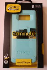 New OtterBox Commuter Series Case for Samsung Galaxy S8 - Teal/Blue