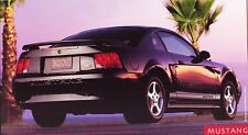 2002 Ford Mustang V6 GT Coupe & Convertible Focus ZX2 Deluxe Sales Brochure