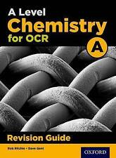 OCR A Level Chemistry A Revision Guide by Emma Poole, Rob Ritchie (Paperback, 2017)
