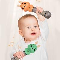 Kleinkinder lernen früh Spielzeug Rassel Beißring Stick Musical Spielzeug