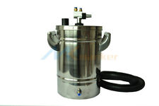 mini Stainless steel Fluidized powder hopper+IG02 pump for powde coating machine