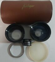 Vintage Kaligar Camera Auxiliary Lens Set Series VI Telephoto Wide Angle Japan
