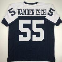New LEIGHTON VANDER ESCH Dallas TG Custom Stitched Football Jersey Size Men's XL