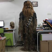Star Wars Chewbacca Fancy Dress Costume Cosplay Halloween Chewie Full Set Adult