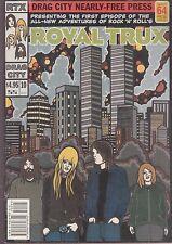 royal trux comic book form book