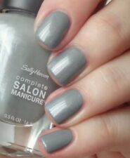 Sally Hansen Complete Salon Manicure Nail Polish 841 Somber Bliss Full Size GRAY