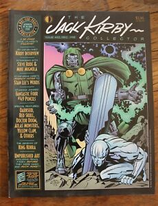 The Jack Kirby Collector #22 Dave Stevens Cover