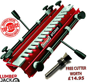 300mm Dovetail Jig includes Comb Template & FREE Lumberjack Cutter worth £14.95