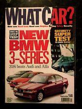 WHAT CAR? MAGAZINE SEP-1998 - Alfa 156 1.8, Audi A4 1.8, BMW 318i E46, Ford Ka