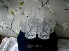 More details for set of 6 new  senator  whiskey glasses tumblers