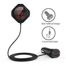 Bluetooth FM Transmitter Auto KFZ SD MP3 Player USB AUX Freisprechanlage Q7S