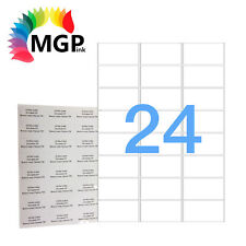 1000 Sheets 24 Labels Per Page 24000 Labels 63.5×33.9mm A4 Office Mailing Label