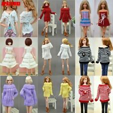 """Winter Knitted Sweater Blouse Tops Coat Dress Clothes For 11.5"""" Doll 1/6 BJD Toy"""
