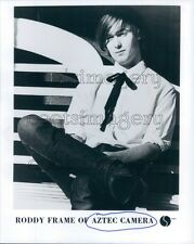 1983 Roddy Frame of New Wave Band Aztec Camera 1980s  Press Photo