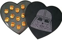 Rare Star Wars Collectible Gift Jeweled Darth Vader Head Heart Shape Candy Box