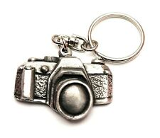 Camera KeyRing Hand Crafted Pewter Key Ring in pouch Gift Idea
