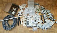 lot matériel électrique peigne, prises, interrupteurs, disjoncteurs, dont Niko,