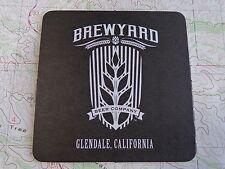 Beer Coaster ~ BREWYARD Beer Co ~ Glendale, CALIFORNIA ** More Coasters in STORE