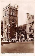 BR93892  carfax showing carfax tower oxford real photo car bike velo   uk