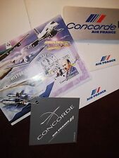 1 Concorde Air France In-Flight Gift Silver Key Ring Given to Passenger as Gift