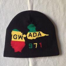 Bonnet Gwada / Guadeloupe / Reggae / Jamaique / drapeau / 22 cm X 20 cm