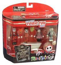Minimates Nightmare Before Christmas Exclusive Figure Set NEW Toys Figures