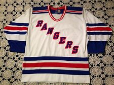 Vintage 90's NHL New York Rangers Hockey Jersey By Starter Men's Size L NICE