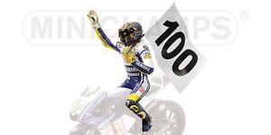 Valentino Rojo Piloto Riding Figura 100 Gp Wins Assen 2009 World Champion 1:12