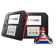 Nintendo 2DS Mario Kart 7 Limited Edition 4GB Crimson Red Handheld System