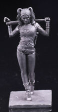 harley quinn | Tin Toy Soldier 54mm | Metal Figure | sol-54-052