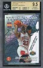 Michael Jordan/Payton 1996-97 Stadium Club Top Crop #TC9 BGS 9.5 (9.5 9.5 9.5 9)