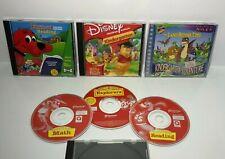 Lot of 6 - Fun Kindergarten Educational Cd's - JumpStart / Disney / Scholastic