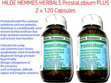 2 x 120 caps HILDE HEMMES HERBALS ProstaLobium PLUS ( total 240 capsules )