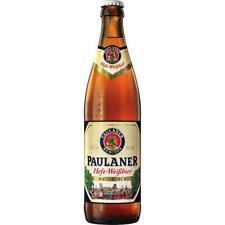20 bottiglie PAULANER Weissbier natura torbide a 0,5l bottiglia di birra Inc 1,60 EURO di cauzione