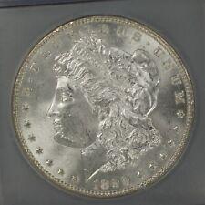 1899 Morgan Silver Dollar Certified IGC Genuine UNC A-947