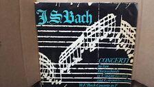 BACH - CONCERTI FOR TWO HARPSICHORDS BWV1061/1060 LP VINYL VG+/VG+ LPX1221