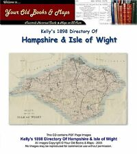 Kellys répertoire de Hampshire & the Isle of Wight 1898 CD-ROM