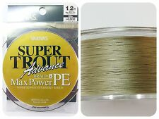 VARIVAS - SUPER TROUT MAX POWER X8 PE 150m #1.2 24.1lb Same Quality to SEA BASS