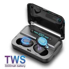 Bluetooth 5.0 Kopfhörer In Ear Mic Sport Headsets Kabellos für iPhone Samsung