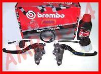BOMBA BREMBO RADIAL RCS 19 FRENO + RCS 16 EMBRAGUE CON ACCESORIOS