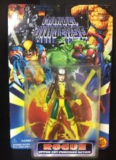 1996 Toy Biz Marvel Universe Rogue Upper Cut Punching Action Figure-New