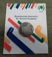 #D199.  1988   AUSTRALIAN SCHOOL STUDENT BICENTENNIAL   MEDAL