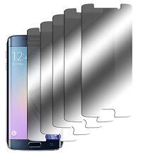 5 x Spiegelfolie Samsung Galaxy S6 Edge Displayschutzfolie Mirror Folie Screen